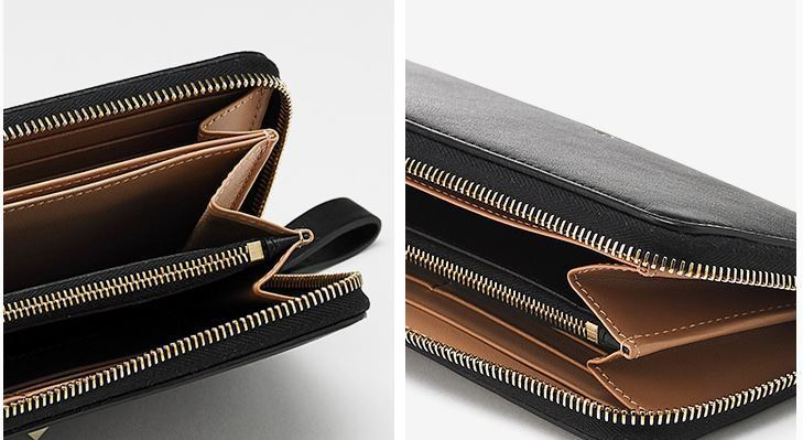 【関税負担】 VALENTINO ZIP AROUND WALLET
