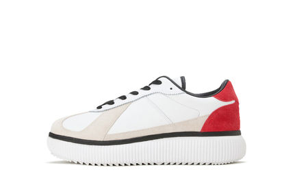 Onitsuka Tiger shoes DELEGACY WHITE×RED date this brand