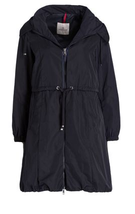 Moncler★春コート TUILE navy