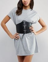 ASOS(エイソス) ファッション雑貨・小物その他 モード感UP★ASOS Extra Wide Lace Up Corset Belt コルセット