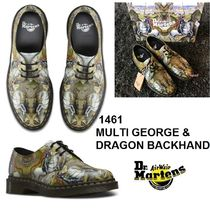 完売間近レア! Dr. Martens1461 MULTI GEORGE & DRAGON BACKHAND
