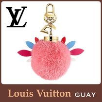 Louis Vuitton(ルイヴィトン) バッグチャーム ☆人気!【Louis Vuitton】チャーム☆ファー☆ラブリーバード☆