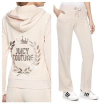 ☆JUICY COUTURE お洒落なベロアセットアップ(Scallop Shell)☆