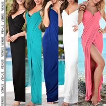 VENUS*WRAP MAXI DRESS