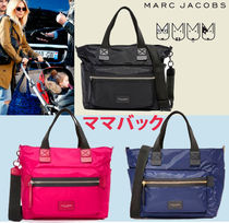 MARC JACOBS(マークジェイコブス) マザーズバッグ 人気商品☆MARC JACOBS★バイカーベビーバッグ/5-7お届け