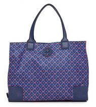 折りたたみ可☆Tory Burch☆Ella Packable Printed Nylon Tote