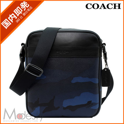 【日本国内即日発送】 COACH F57564 LLL FLIGHT BAG INDIGO CA