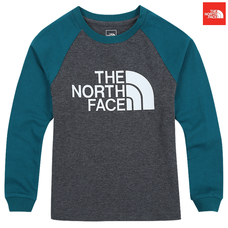 【日本未入荷】THE NORTH FACE  Kids BIG LOGO RAGLAN L/S R/TEE