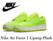 ☆セール☆パステルカラー♪Nike Air Force 1  Upstep Volt
