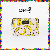 WOOUF BARCELONA(ウーフバルセロナ) エプロン WOOUF  BARCELONA★ipad mini case★BANANA