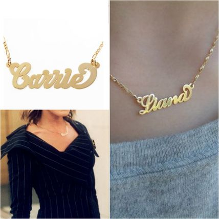 SATC sex and the city Carrie / name necklace / himself