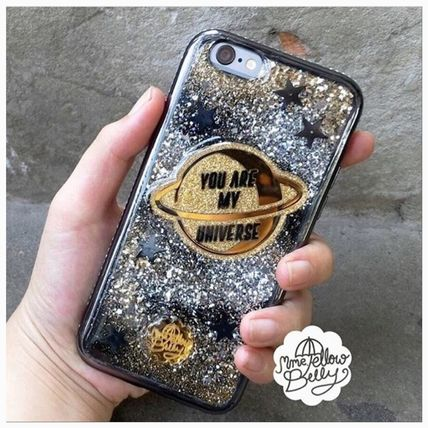 MME YELLOWBELLY iPhone・スマホケース 新作iphoneケース☆YOU ARE MY UNIVERSE☆追跡付