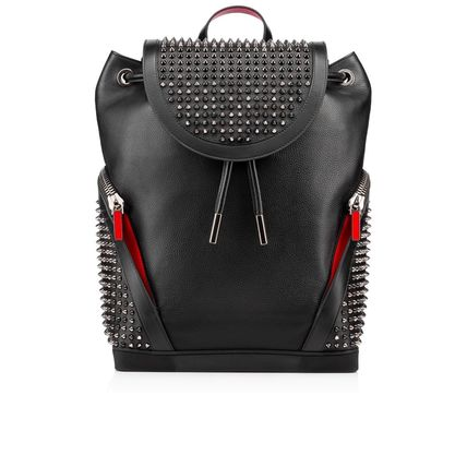 Christian Louboutin バックパック・リュック 17New■Christian Louboutin■Explorafunk Backpack Black関税込(2)