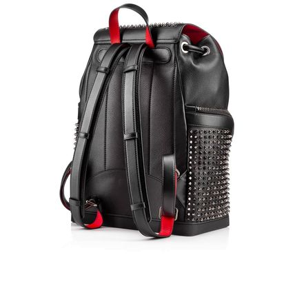 Christian Louboutin バックパック・リュック 17New■Christian Louboutin■Explorafunk Backpack Black関税込(3)