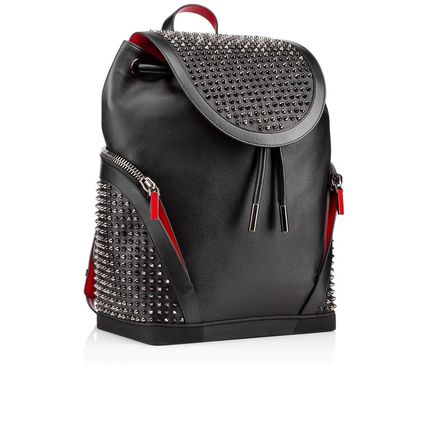 Christian Louboutin バックパック・リュック 17New■Christian Louboutin■Explorafunk Backpack Black関税込(4)