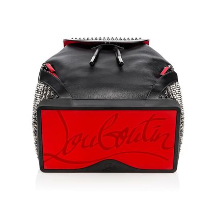 Christian Louboutin バックパック・リュック 17New■Christian Louboutin■Explorafunk Backpack Black関税込(7)