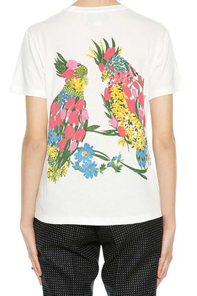 GUCCI Tシャツ・カットソー GUCCI Heart Printed Cotton Jersey T-Shirt(3)