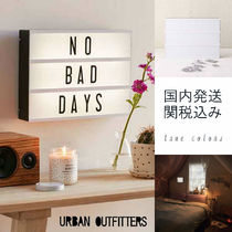 Urban Outfitters(アーバンアウトフィッターズ) 照明 ◆送料無料◆Urban Outfitters*LED照明 シネマボックス