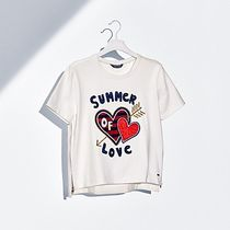Tommy Hilfiger(トミーヒルフィガー) Tシャツ・カットソー ★Tommy Hilfeger★ ハート Tシャツ