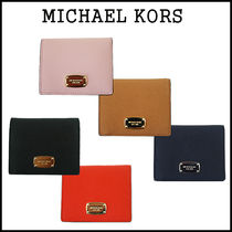 【即発★3-5日着】Michael Kors★JST FLAP CARD HOLDER★