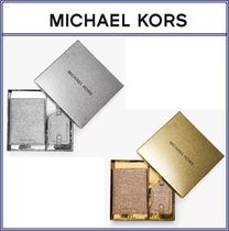 Glittered Leather Set★Michael Kors★パスポートケース★残少