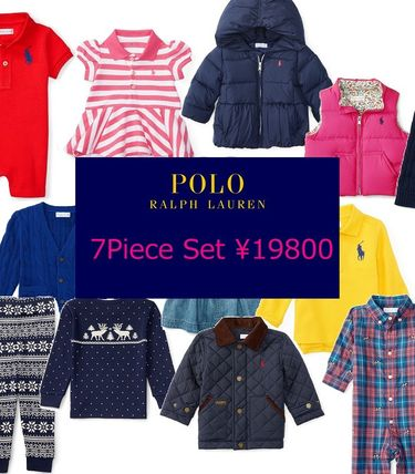 All Ralph Lauren very affordable baby clothes 7-piece set