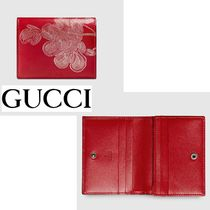 GUCCI(グッチ) カードケース・名刺入れ 国内発送料込GUCCI グッチChinese New Year カードケース赤