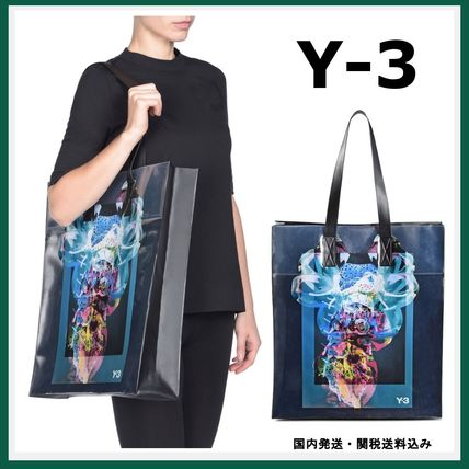 Y-3 graphic print SUMMER plastic tote popular