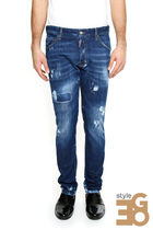 D SQUARED2(ディースクエアード) デニム・ジーパン JEANS SKATER FIT S74LB0132 S30342 470