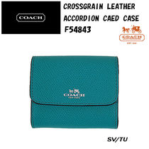 Coach(コーチ) カードケース・名刺入れ COACH CROSSGRAIN LEATHER ACCORDION CARD CASE F54843