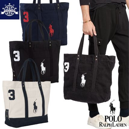 Peace of mind must buy PONY canvas tote
