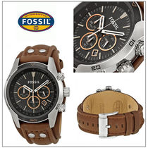 Fossil(フォッシル) 腕時計その他 【国内発/関税込】Fossil   Coachman クロノ BrownLeather腕時計