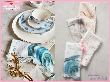 Choice-friendly * Anthro Marbled Napkin two