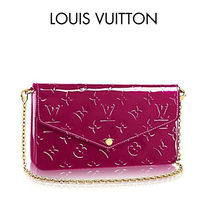 Louis Vuitton(ルイヴィトン) 長財布 ★希少色★Louis Vuitton ポシェットフェリーチェ Magenta