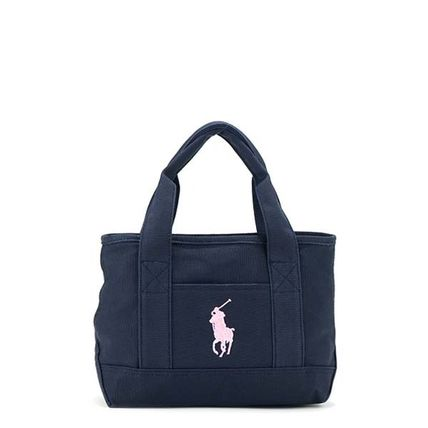 Ralph Lauren tote bag 950346 TOTE S color:NAVY/BLUSH PINK