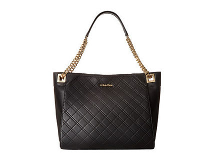 *Calvin Klein*Quilted Lamb Tote トート★関税・送料込★
