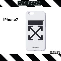 iPhone7  OFF-WHITE☆WHITE ARROWS STICKER【関税送料込み】