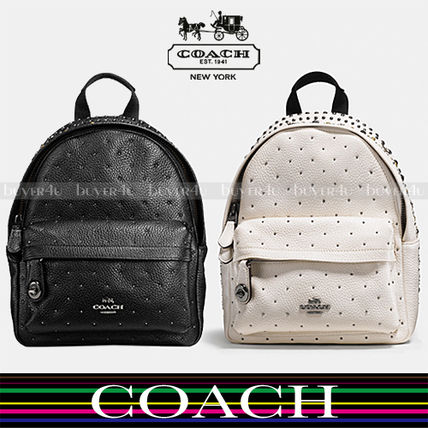 COACH★セール価格☆BANDANA RIVETS MINI CAMPUS BACKPACK 55628