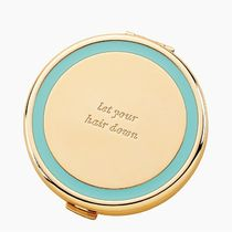 kate spade new york(ケイトスペード) 鏡 【国内未発売】コンパクトミラー★ let your hair down