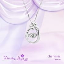Crossfor New York(クロスフォーニューヨーク) ネックレス・ペンダント クロスフォー CROSSFOR DANCING HEART CHARMING DH-010