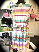 【kate spade】復刻!ポップなMulti Cape Stripe Shirtdress