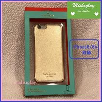 【kate spade】超希少品!! 運気UP↑↑ゴールド★iPhone6/6s case