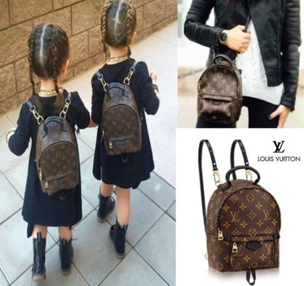Child's unisex LOUIS VUITTON Palm Springs backpack MINI