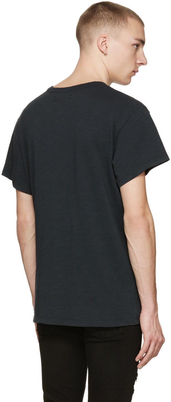 Black Cotton T-Shirt Tシャツ