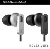 【PEACEMINUSONE】G-DRAGON Silver / Black イヤホン☆限定品!