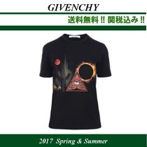 2017SS関税込★GIVENCHY(ジバンシィ)Iconic Eye プリントTシャツ