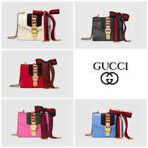GUCCI☆直営店買い付け/ギフトOK☆ ミニ チェーンバッグ Sylvie