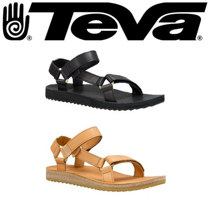 ★Teva★ORIGINAL UNIVERSAL CRAFTED LEATHER サンダル BLK/TAN