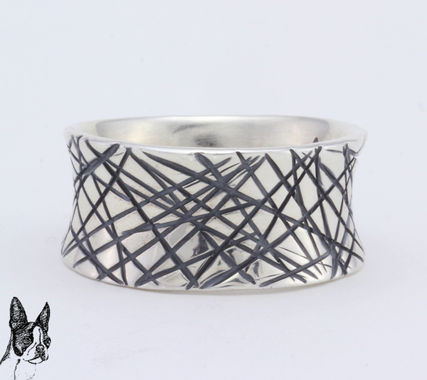 ☆☆ Cody Sanderson ☆☆ Cat Scratch Flare Ring with stars