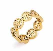 【Tory Burch☆送関込】国内発送*ロゴリング/TORY GOLD